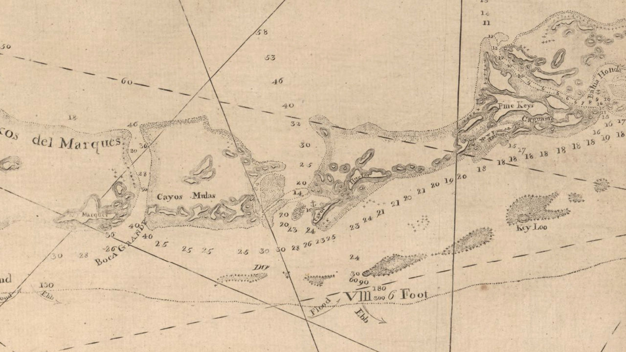 18th century navigation maps reveal extensive losses to